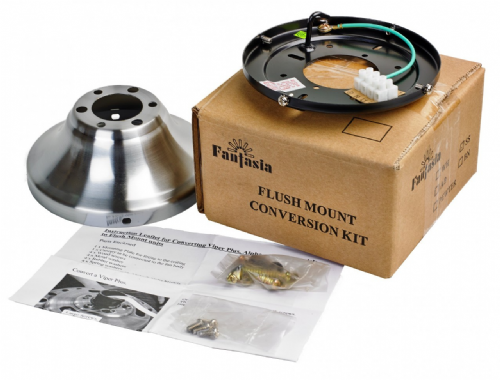 Fantasia Flush Kit Pewter 333470